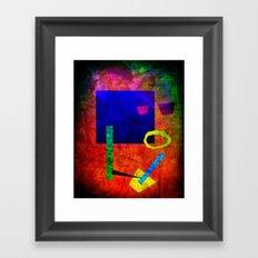 Jazz Bot Framed Art Print