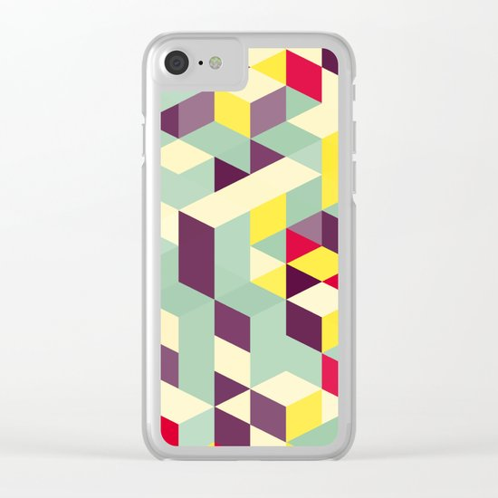 Magical cubes Clear iPhone Case