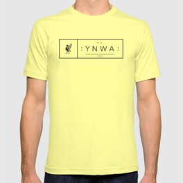 Liverpool minimal logo Black T-shirt