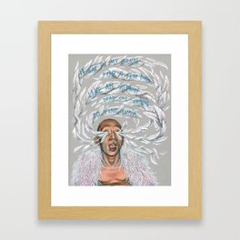 Terence Koh Framed Art Print
