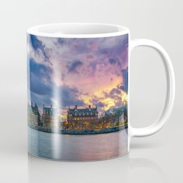 View of the Palace of Westminster and the Big Ben - London Coffee Mug