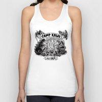 kaiju Tank Tops featuring Camp Kaiju by Austin James