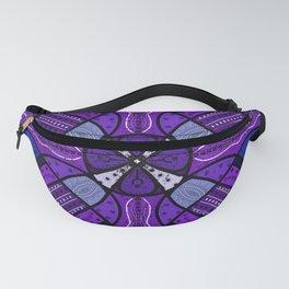 Purple Kaleidoscope Fanny Pack