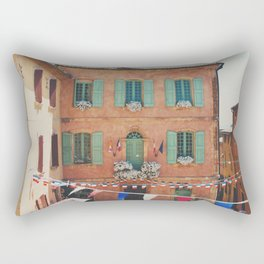 Roussillion, Provence photograph Rectangular Pillow