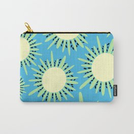 Kiwi Sun Print | Kiwi Print | Summer | Fruity Print | pulps of wood Carry-All Pouch