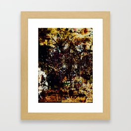 Why The Sunset? Sunseed Muffled Framed Art Print