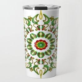 Mandala Reggae al amanecer Travel Mug