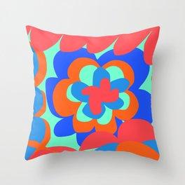 Paradise Flower Throw Pillow