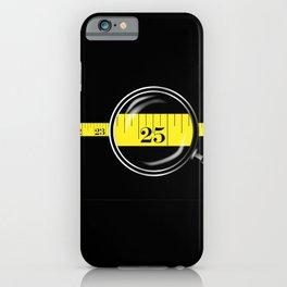 Tape Measure Border iPhone Case