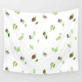 Ladybugs Wall Tapestry