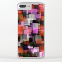 Prophylactic Squares Clear iPhone Case