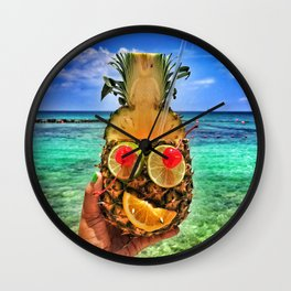 Sun Daze Wall Clock