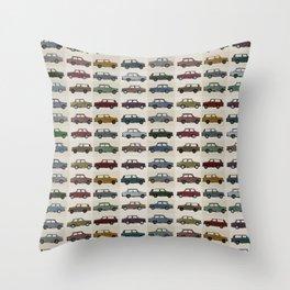 Trabant pattern Throw Pillow