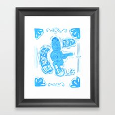 Joy Rider Framed Art Print