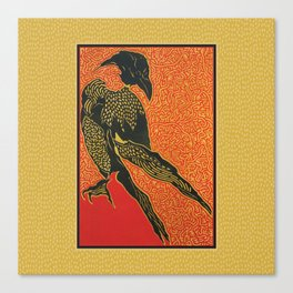 Ravens Wisdom Tricksters and Crows Canvas Print