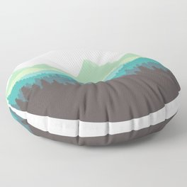 Mountain Air Floor Pillow