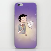 hedwig iPhone & iPod Skins featuring Magical friends by HypersVE