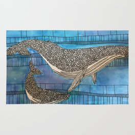 Two Whales Rug