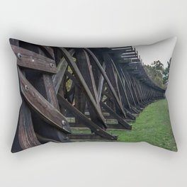 Harpers Ferry Elevated Railroad Rectangular Pillow