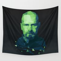 walter white Wall Tapestries featuring Walter White by Dr.Söd