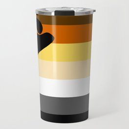 Gay Bear Brotherhood Flag Travel Mug