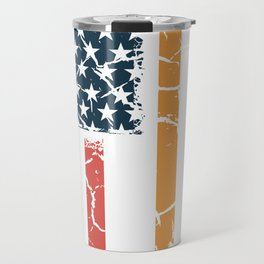USA India Indian Indian America Flag Gift Travel Mug