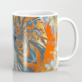 The Happy Blue Elephant Coffee Mug