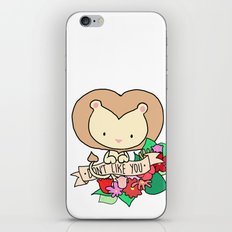 Lion, DON'T LIKE YOU! iPhone & iPod Skin