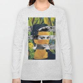 Self Portrait with Bonito & Sophia Loren Long Sleeve T-shirt