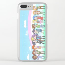 Stardew Valley Chibi Clear iPhone Case