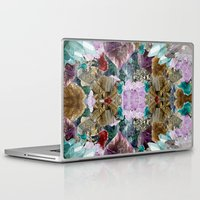 crystal Laptop & iPad Skins featuring Crystal by Joanna Tadger