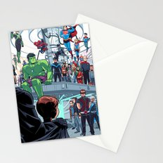 You'll Be Safe Here Stationery Cards