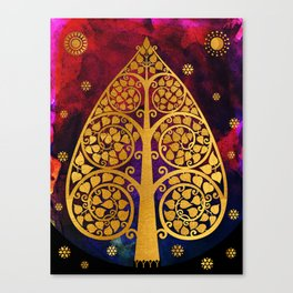 Bodhi Tree0501 Canvas Print