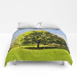 Good Blooming Weather Comforters