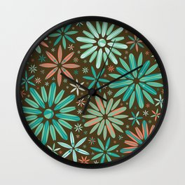 spring tide Wall Clock