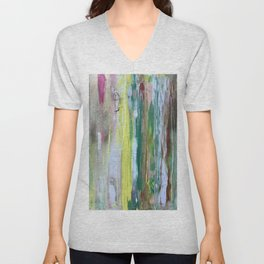 Abstract Painting #2 Unisex V-Neck