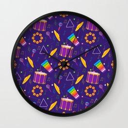 Percussion Wall Clock