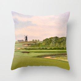 National Golf Links Of America Throw Pillow