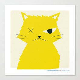 #30daysofcats 04/30 Canvas Print