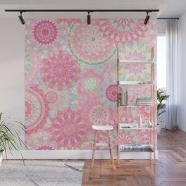 Mandala 206 (Floral) Wall Mural
