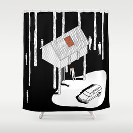 Hereditary by Ari Aster and A24 Studios Shower Curtain