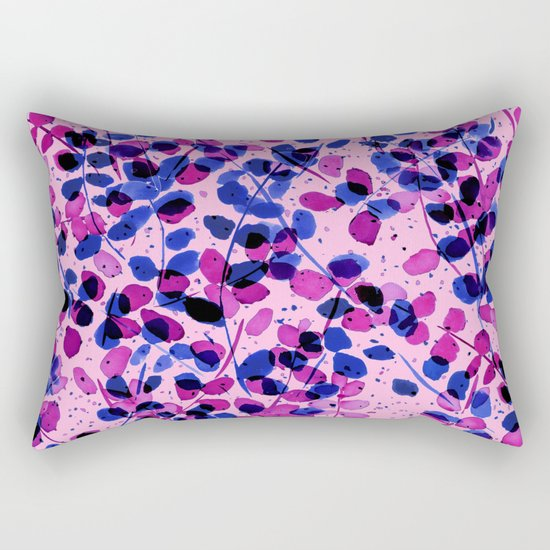 Synergy Purple Rectangular Pillow