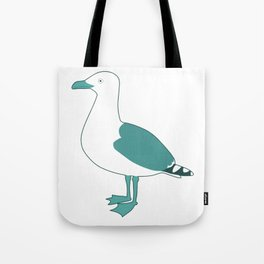Follow the gull Tote Bag