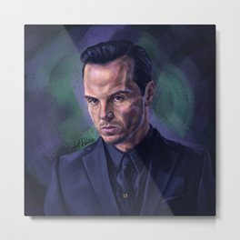 Person of Interest (Jim Moriarty) Metal Print