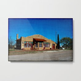 Burlington Route Abilene Metal Print
