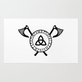 Norse Axe - Celtic Knot Rug