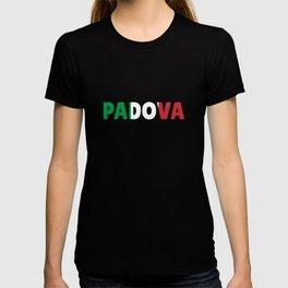 Padova Italy flag holiday gift T-shirt