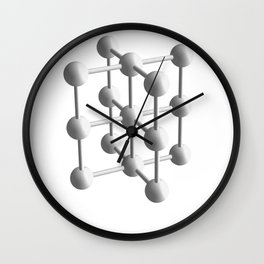 Tubes Wall Clock