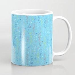 Pastel Party Streamers Vector Pattern Coffee Mug