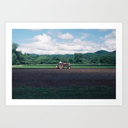 Out In The Field Art Print